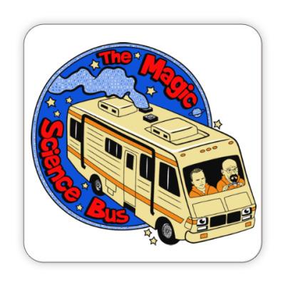 Костер (подставка под кружку) Волшебный автобус
