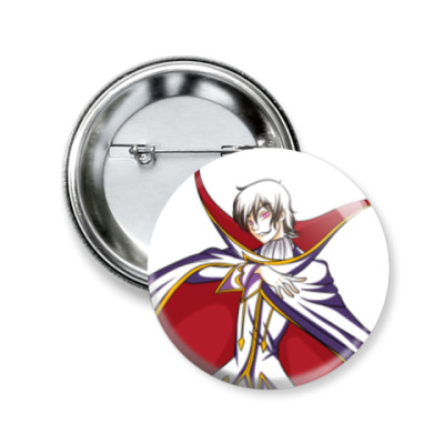 Значок 50мм Code Geass. Lelouch of the Rebellion