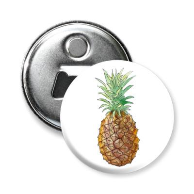 Магнит-открывашка Pineapple