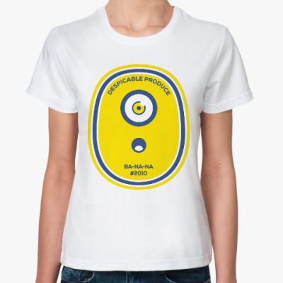Классическая футболка Миньон (Банана)