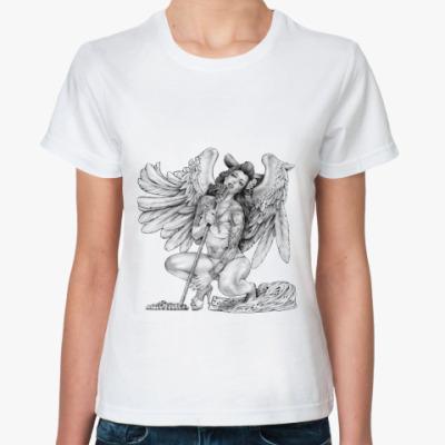 Классическая футболка Singing Angel