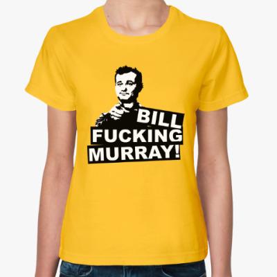 Женская футболка Билл Мюррей