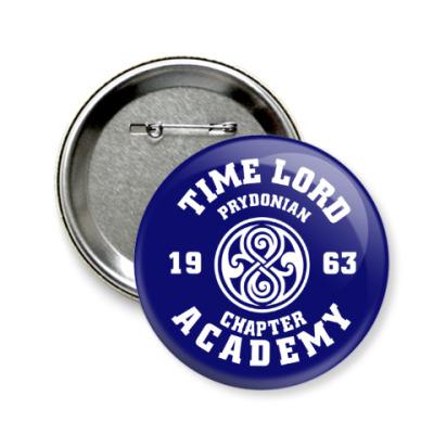 Значок 58мм Gallifrey Academy