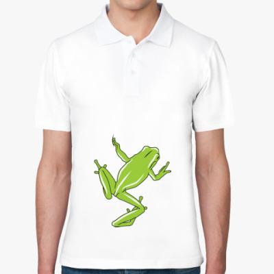 Рубашка поло Лягушка