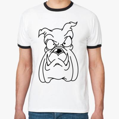 Футболка Ringer-T Пёс
