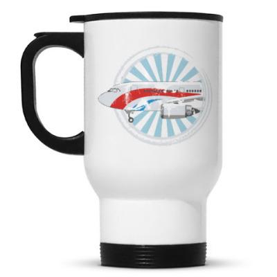Кружка-термос Самолетик