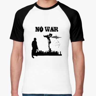 Футболка реглан NO WAR