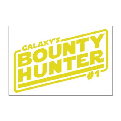 Наклейка (стикер) Bounty Hunter