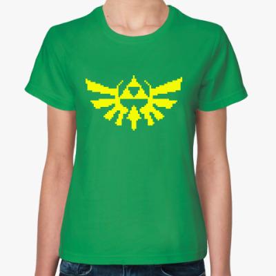 Женская футболка Зельда