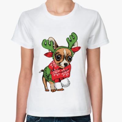 Классическая футболка Год собаки