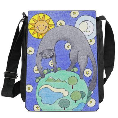 Сумка-планшет Великая Кошка-праматерь