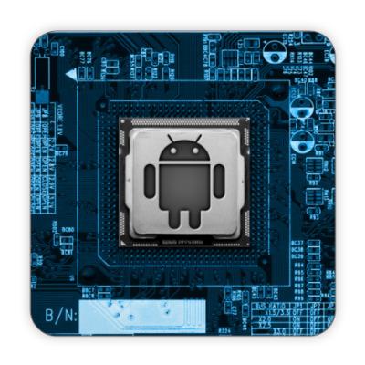 Костер (подставка под кружку) Андроид