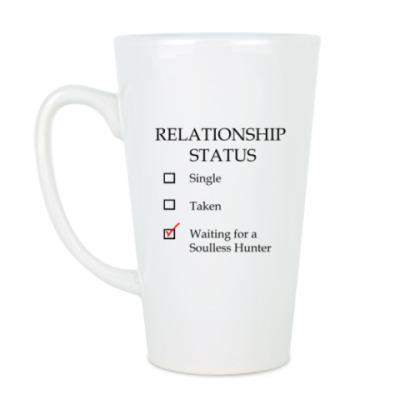 Чашка Латте В ожидании бездушного охотника