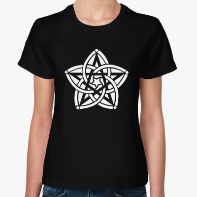 Женская футболка Звезда узор