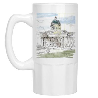 Пивная кружка Казанский собор