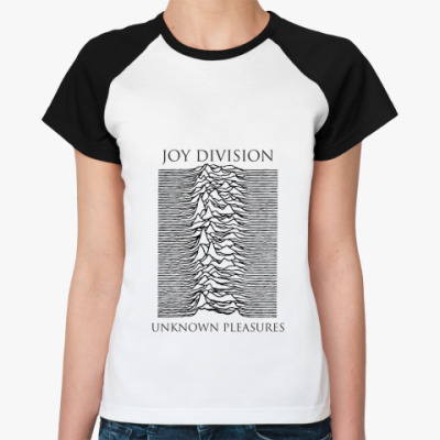 Женская футболка реглан Joy Division