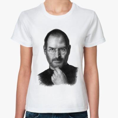 Классическая футболка Стив Джобс