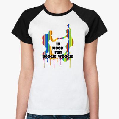 Женская футболка реглан IN MOOD BOOGIE