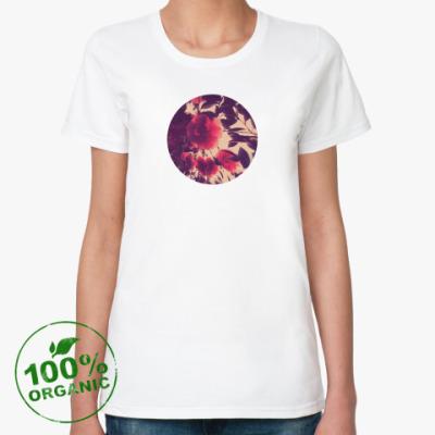 Женская футболка из органик-хлопка Rose
