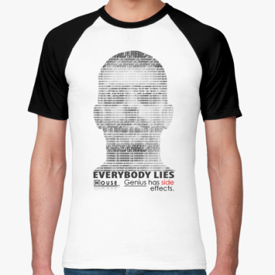 Футболка реглан EVERYBODY LIES