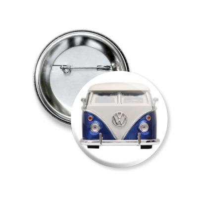 Значок 37мм Volkswagen Bus