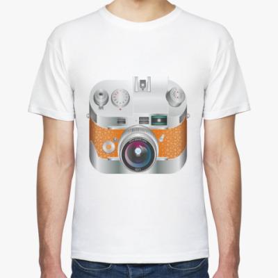 Футболка Винтажный фотоаппарат