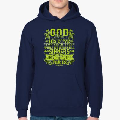 Толстовка худи Христианство. Gospel. Faith.