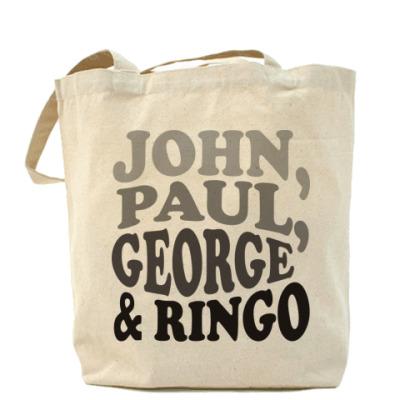 Сумка  John.Paul.George&Ringo