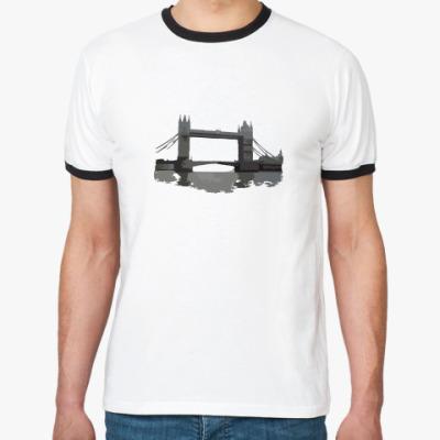 Футболка Ringer-T  Tower Bridge