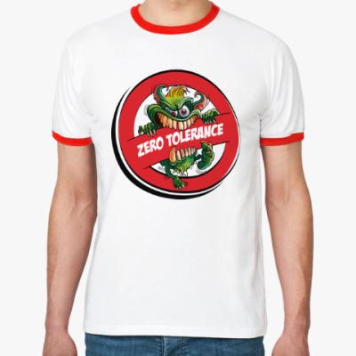 Футболка Ringer-T ZERO TOLERANCE
