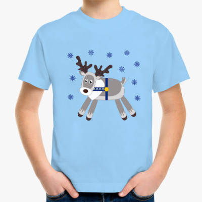 Детская футболка Северный олень