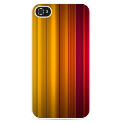 Чехол для iPhone Цветные линии