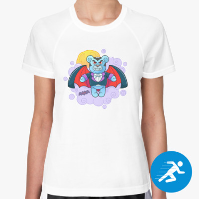 Женская спортивная футболка Плюшевый Вампир