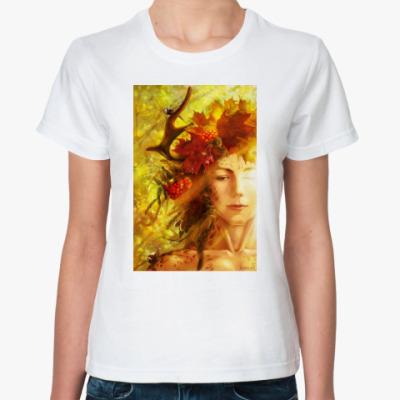 Классическая футболка Осень