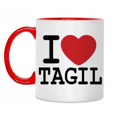 Кружка I Love Tagil