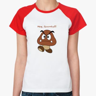 Женская футболка реглан Goomba