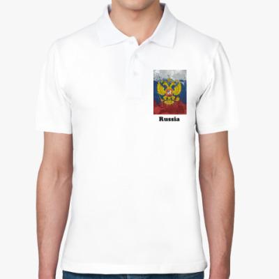 Рубашка поло Герб России
