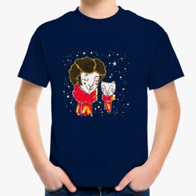 Детская футболка Пушкин