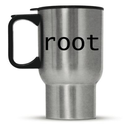 Кружка-термос root (черный)