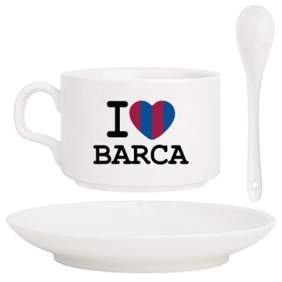 Кофейный набор I Love Barca