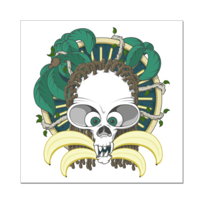 Наклейка (стикер) Dead Monkey