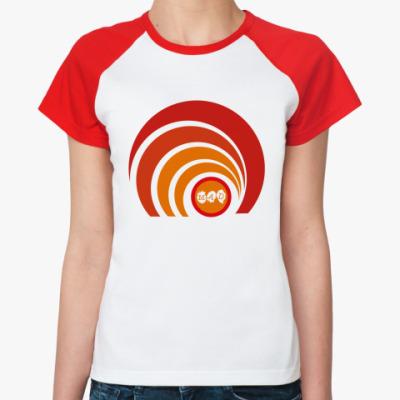 Женская футболка реглан MAD