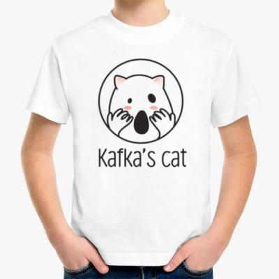 Детская футболка Kafka's cat