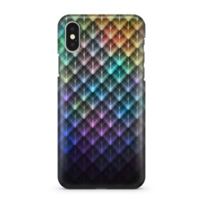 Чехол для iPhone X Colorfull