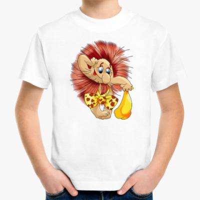 Детская футболка ДРЕВНИЙ ЧЕЛОВЕК