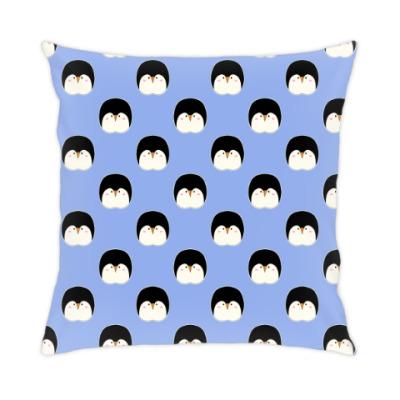 Подушка Пингвины