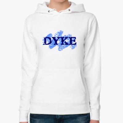Женская толстовка худи DYKE (дайк)
