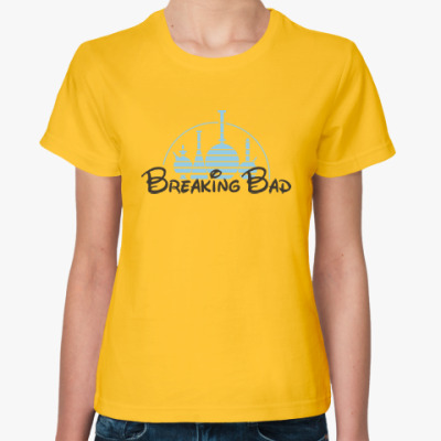 Женская футболка Breaking Bad Chemistry