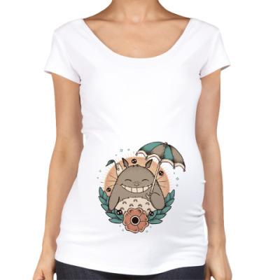 Футболка для беременных Smile Totoro