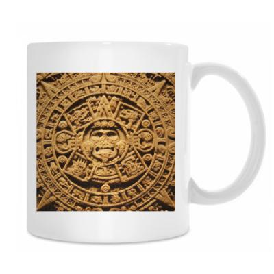 Кружка `Солнце ацтеков`